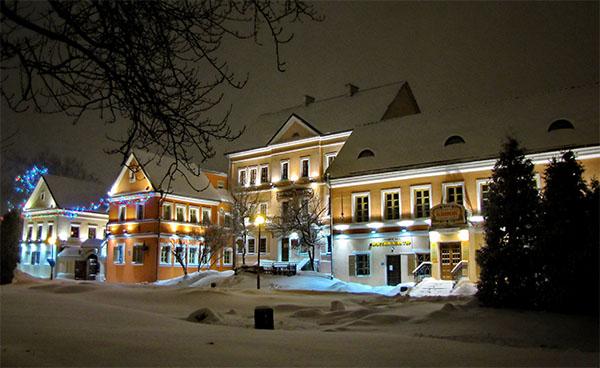 Троицкое предместье зимой